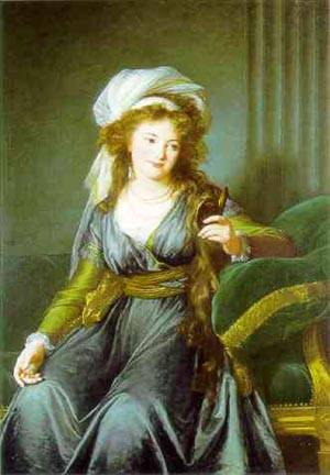 Portrait Of Countess Catherine Skavronskaya | Louise Elisabeth Vigee Le Brun | Oil Painting