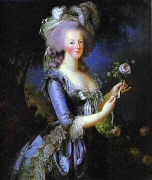 Portrait Of Marie Antoinette | Louise Elisabeth Vigee Le Brun | Oil Painting