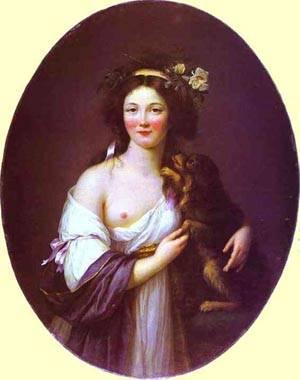 Portrait Of Mme Daguesseau 1770 | Louise Elisabeth Vigee Le Brun | Oil Painting