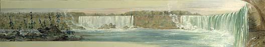 Niagara Falls 1827 1828 | George Catlin | Oil Painting