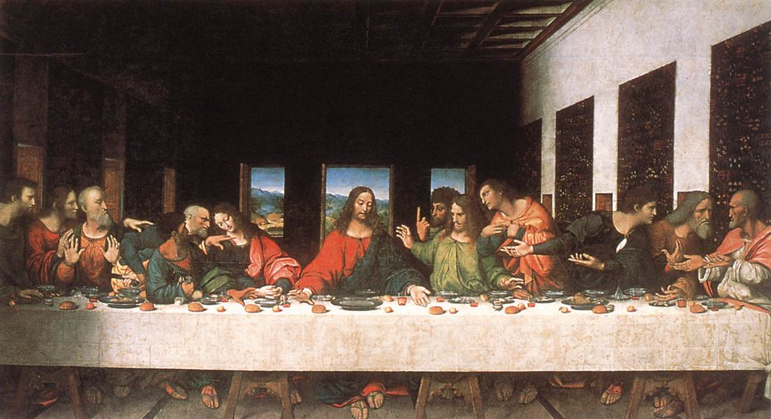 Last Supper (copy) | Leonardo Da Vinci | Oil Painting