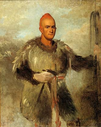 Theodore Burr Catlin in Indian Costume 1838 | George Catlin | Oil Painting