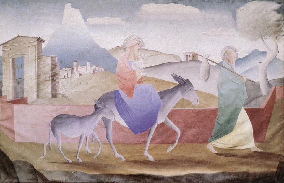 Flight to Egypt | Pai C Molnar | Oil Painting