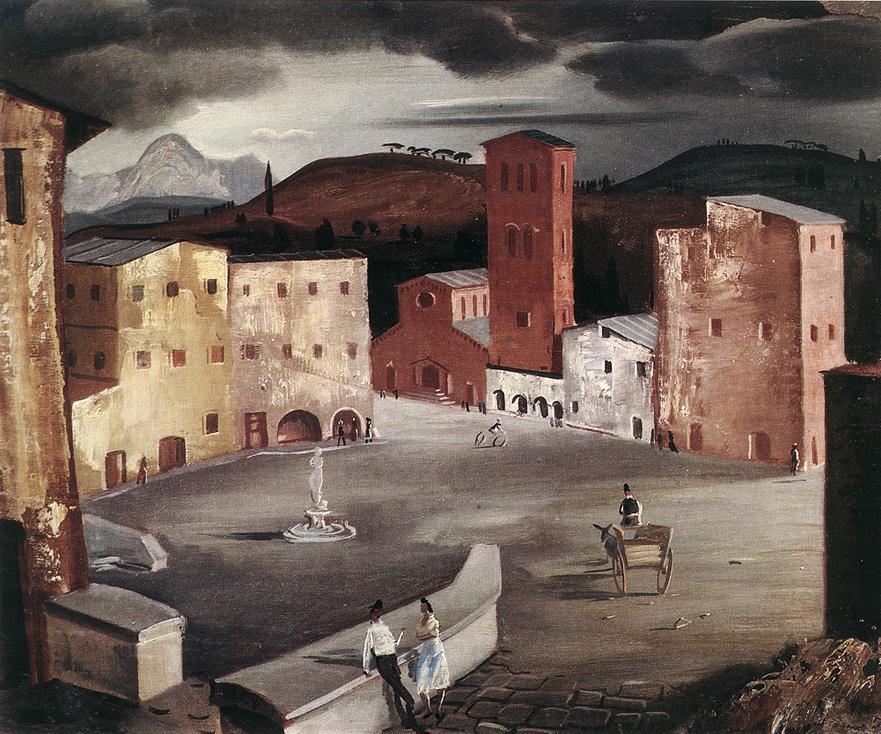 Castelli Romani Albano 1930 | Pai C Molnar | Oil Painting