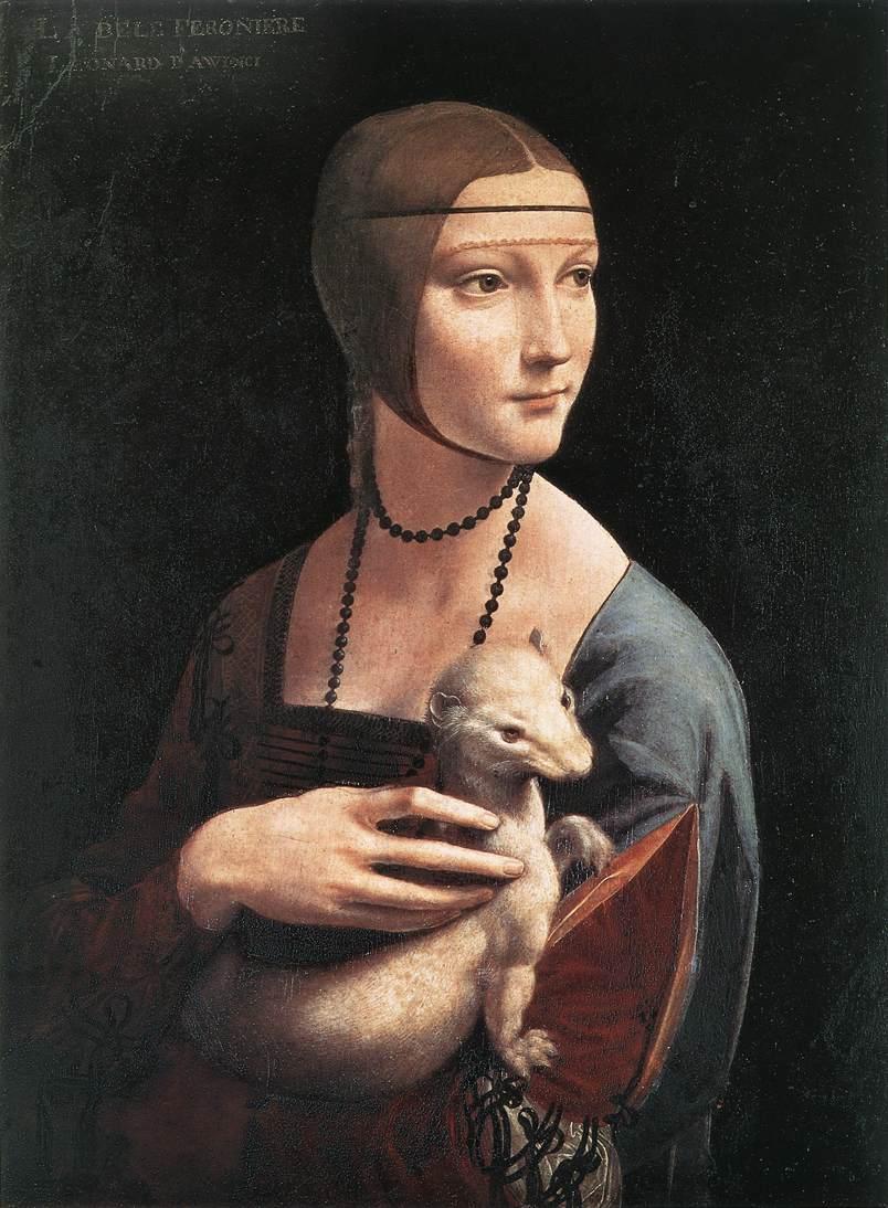 Portrait of Cecilia Gallerani | Leonardo Da Vinci | Oil Painting