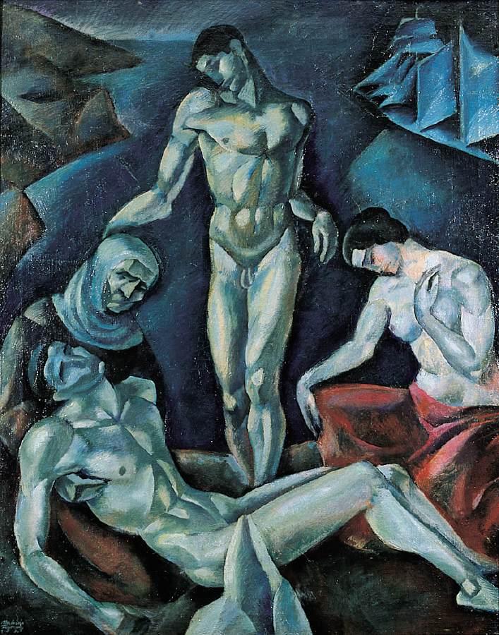 Lamentation 1921 | Farkas Molnar | Oil Painting