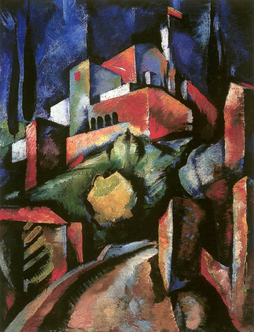 Chiostro San Francesco 1921 | Farkas Molnar | Oil Painting