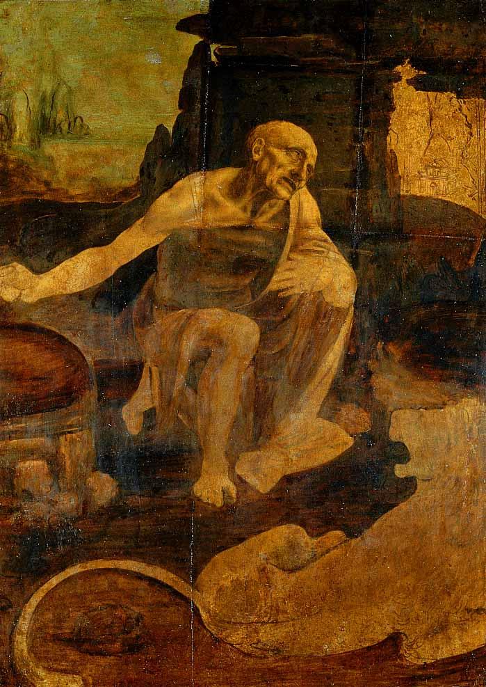 Saint Jerome | Leonardo Da Vinci | Oil Painting