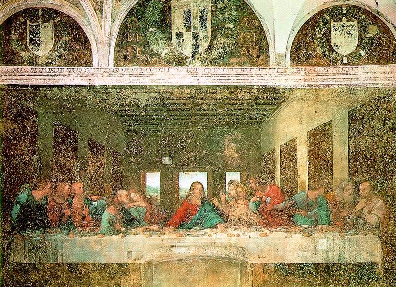 The Last Supper | Leonardo Da Vinci | Oil Painting