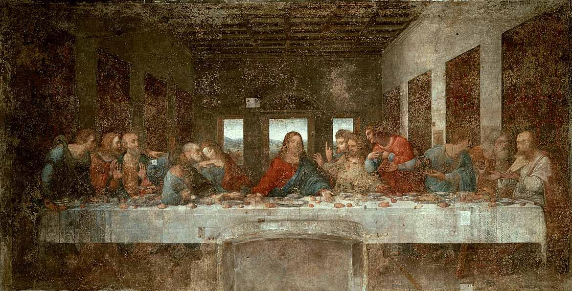 The Last Supper pre | Leonardo Da Vinci | Oil Painting
