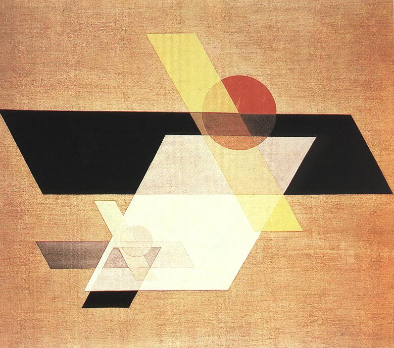 Composition A II 1924 | Laszio Nagy Moholy | Oil Painting