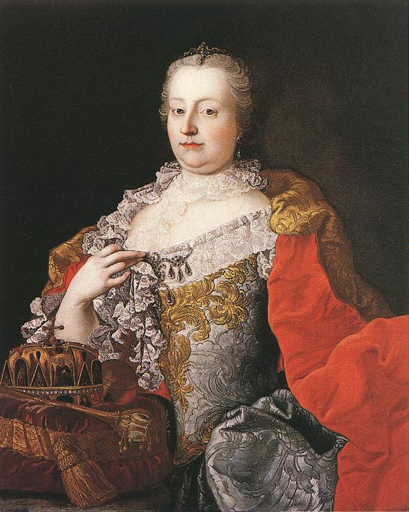 Queen Maria Theresia 1750s | Martin Van Meytens | Oil Painting