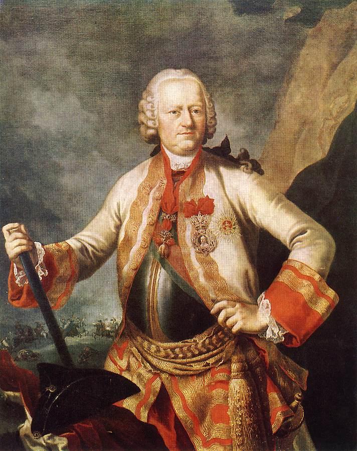 Portrait of Karoly Jozsef Batthysany 1760s   Martin Van Meytens   Oil Painting
