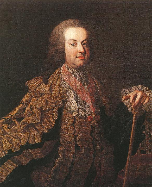 Emperor Francis I 1750s   Martin Van Meytens   Oil Painting