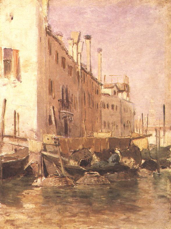 Chioggia 1883 | Geza Meszoly | Oil Painting