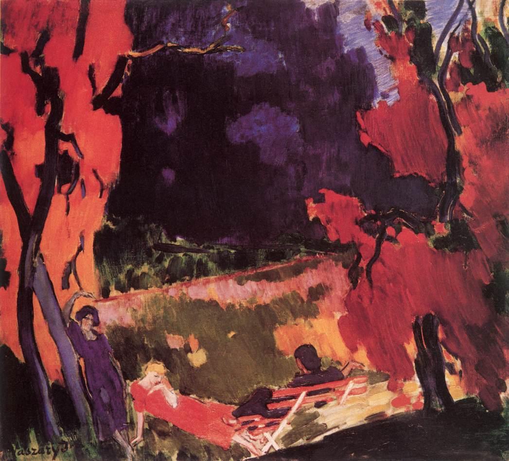 Autumn c 1938   Janos Vaszary   Oil Painting