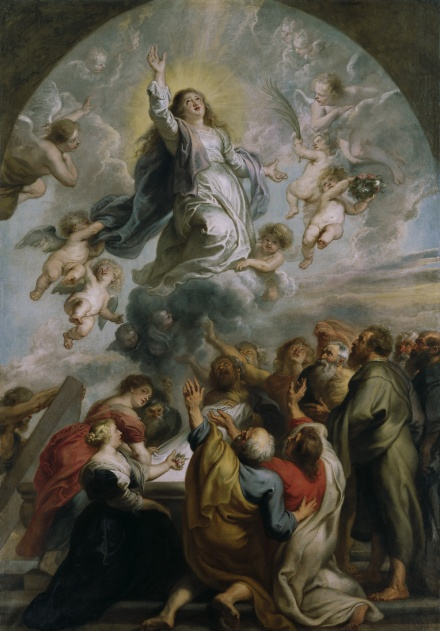 The Assumption of the Virgin c 1637 | Peter Paul Rubens | Oil Painting