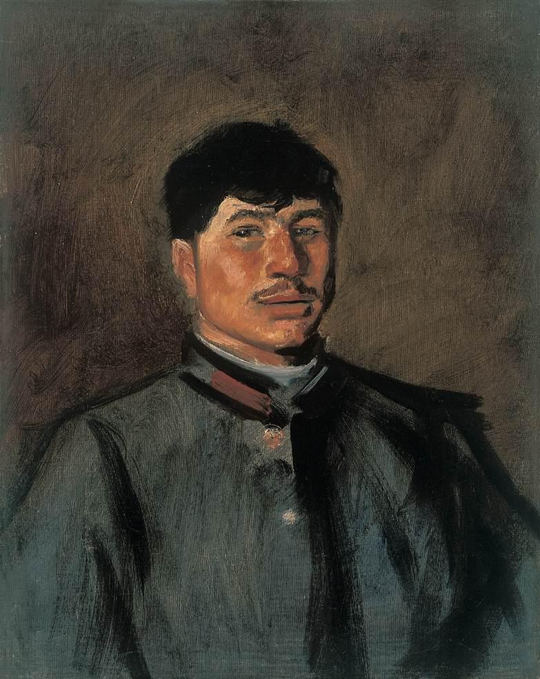 Portrait of a Young Soldier 1914 15 | Laszio Mednyanszky | Oil Painting