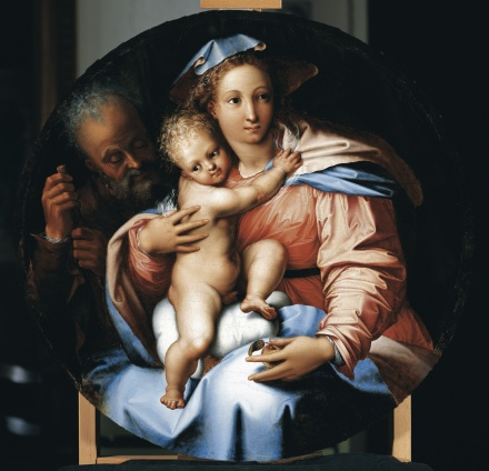 The Holy Family c 1540 | Perino del Vaga | Oil Painting