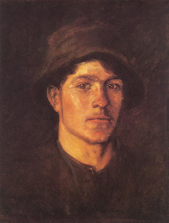Peasant Lad | Laszio Mednyanszky | Oil Painting