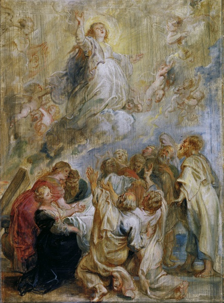 The Assumption of the Virgin modello 1637 | Peter Paul Rubens | Oil Painting