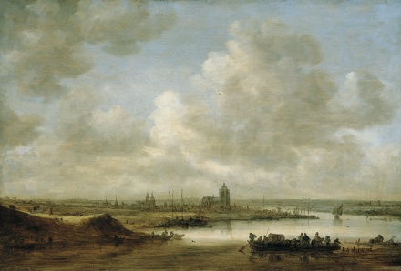 The Rhine at Arnhem 1645 | Jan van Goyen | Oil Painting