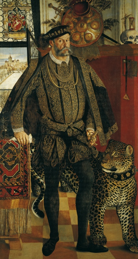 Portrait of Ladislaus von Fraunberg Count of Haag 1557 | Hans Mielich | Oil Painting