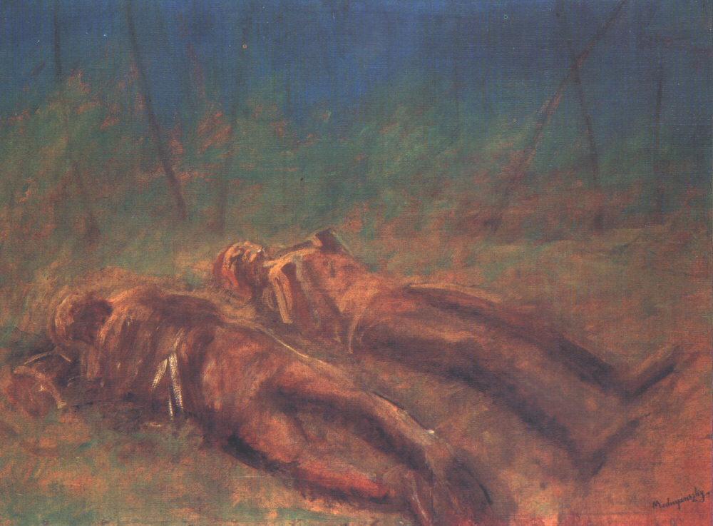 Evanescence 1917 | Laszio Mednyanszky | Oil Painting