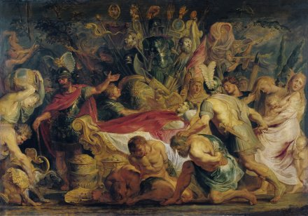The Obsequies of Decius Mus | Peter Paul Rubens | Oil Painting