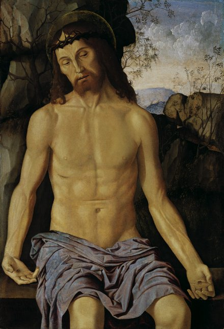 Christ as the Man of Sorrows | Marco Palmezzano | Oil Painting