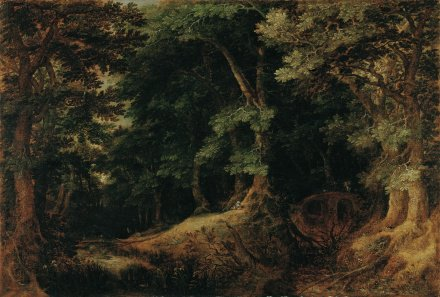 Forest Landscape 1598 | Gillis van Coninxloo | Oil Painting