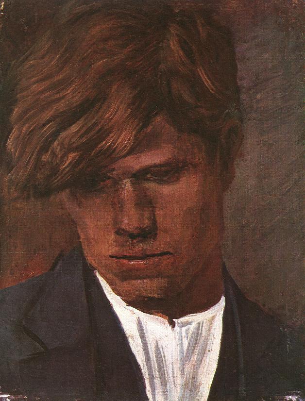 Head of a Boy 1890 | Laszio Mednyanszky | Oil Painting