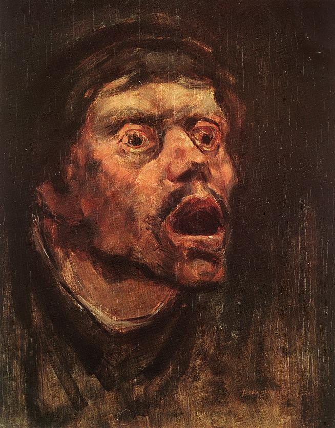 Head of a Tramp 1896 | Laszio Mednyanszky | Oil Painting