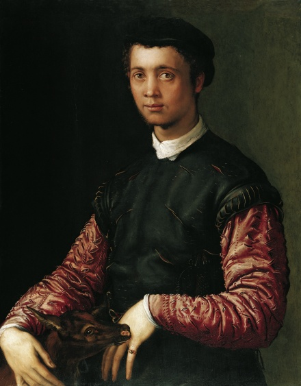 Portrait of a Young Man 1548 | Francesco Salviati | Oil Painting