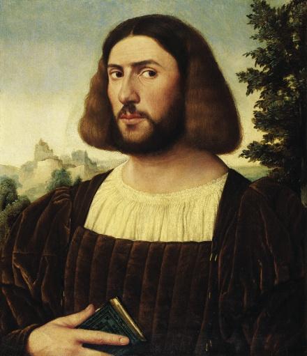 Portrait of a Man c 1520   Jan von Scorel   Oil Painting