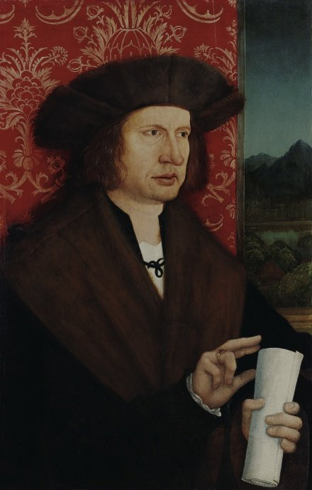 Portrait of Dr Georg Thannstetter c 1515 | Bernhard Strigel | Oil Painting