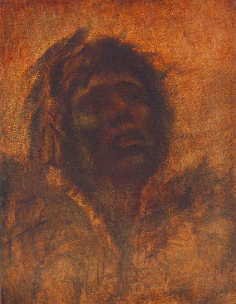Head of a Tramp after 1905 | Laszio Mednyanszky | Oil Painting