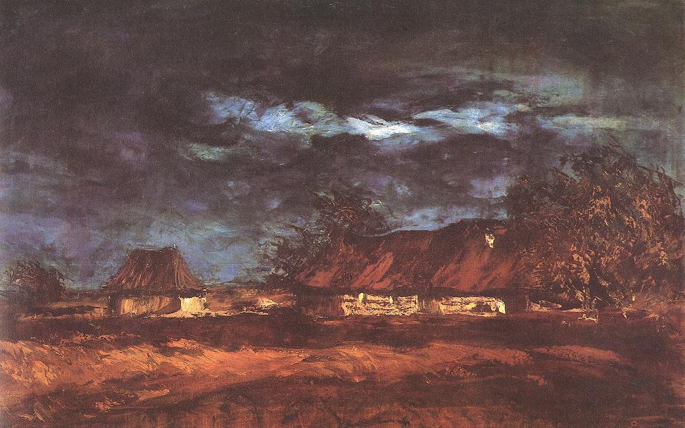 Homestead 1905 | Laszio Mednyanszky | Oil Painting