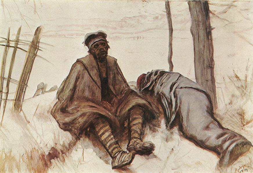 In Serbia 1914 | Laszio Mednyanszky | Oil Painting