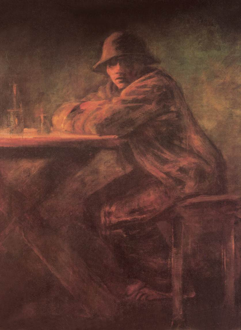In the Tavern after 1898 | Laszio Mednyanszky | Oil Painting