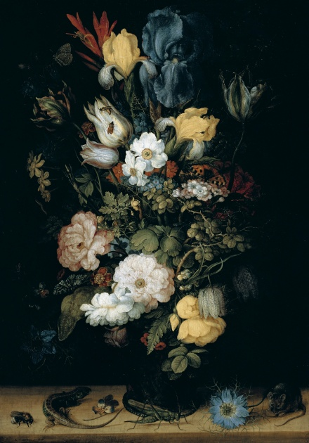 Bouquet of Flowers the so called Liechtenstein Bouquet 1612 | Roelant Savery | Oil Painting