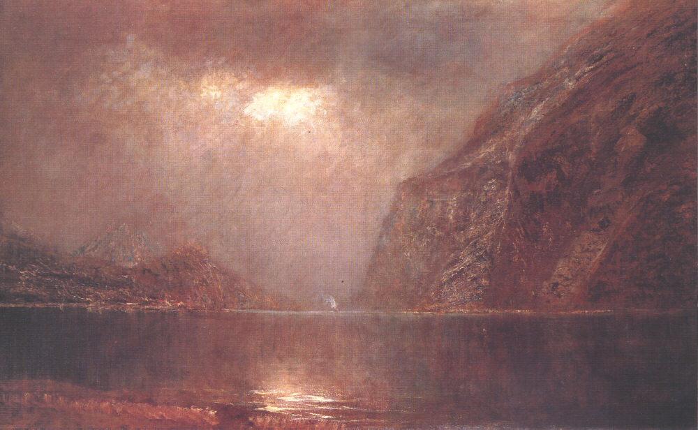 Iron Gate at the Danube 1890 95   Laszio Mednyanszky   Oil Painting