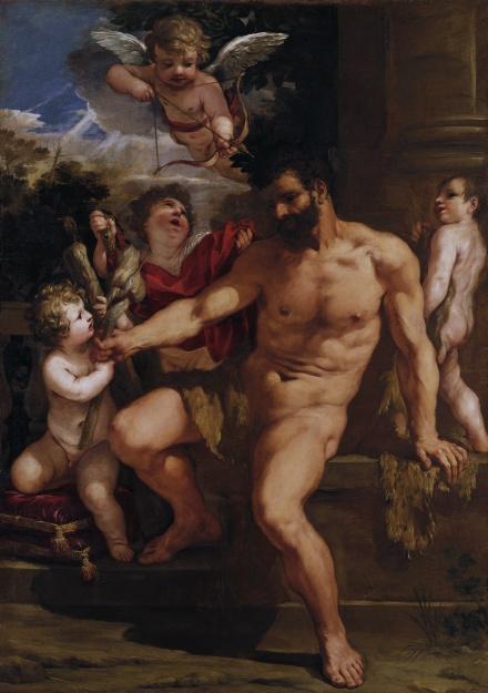 The Punishment of Hercules 1635 | Pietro Berettini da Cortona | Oil Painting