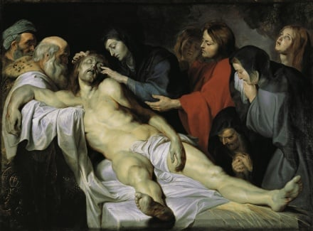 The Lamentation c 1613 1614 | Peter Paul Rubens | Oil Painting