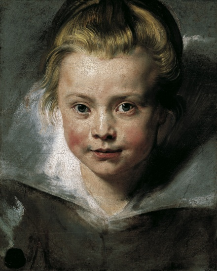 Portrait of Clara Serena Rubens c 1616 | Peter Paul Rubens | Oil Painting