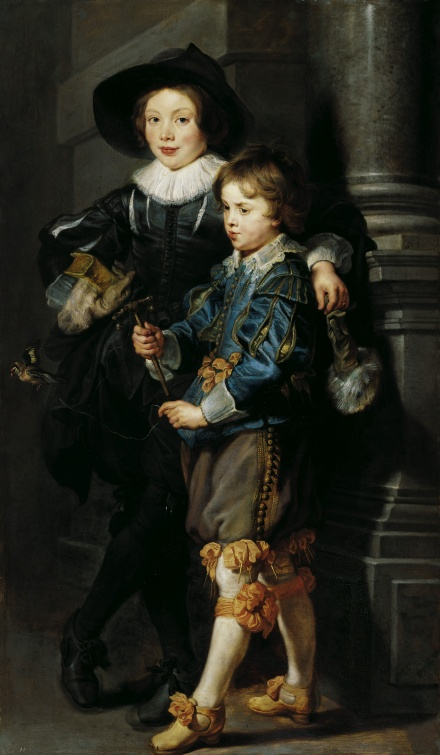 Double Portrait of Albert and Nikolaus Rubens c 1626 1627 | Peter Paul Rubens | Oil Painting
