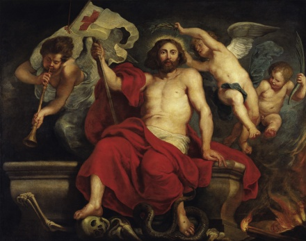 Christ Triumphant over Sin and Death 1615 1622 | Peter Paul Rubens | Oil Painting