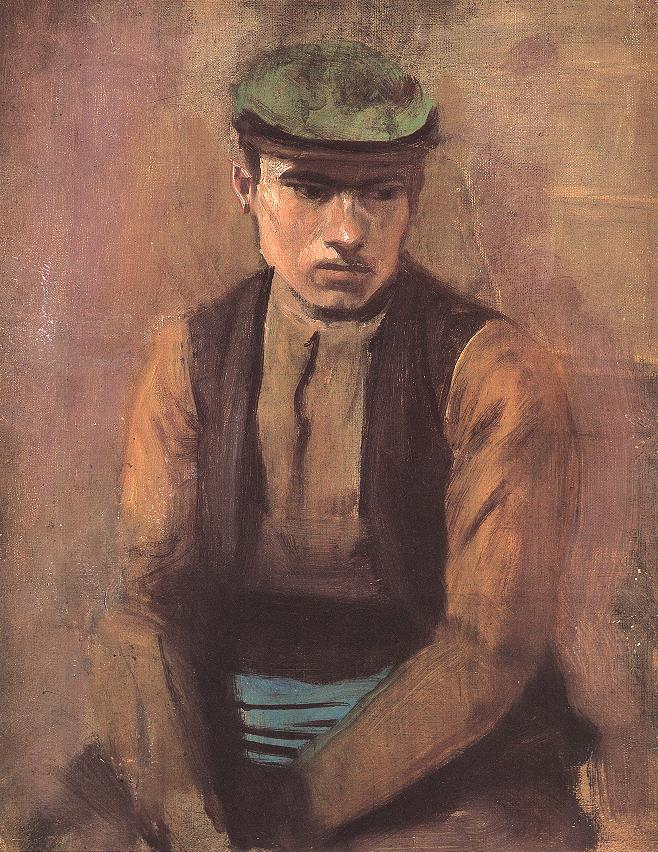Day Labourer | Laszio Mednyanszky | Oil Painting