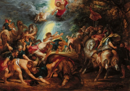 The Conversion of St Paul 1601 1602 | Peter Paul Rubens | Oil Painting
