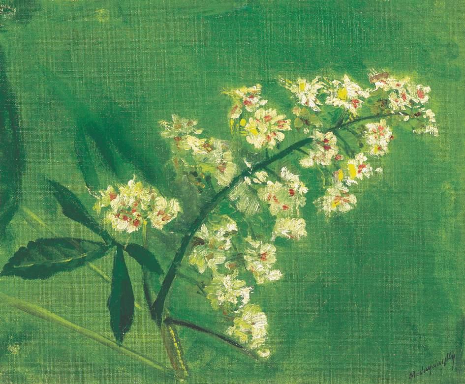 Chestnut Flower | Laszio Mednyanszky | Oil Painting